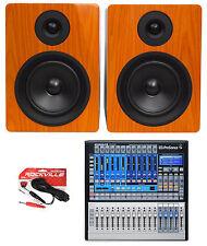 Presonus STUDIOLIVE 16.0.2 Recording+Live Performance Digital Mixer + Monitors