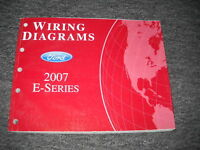 2007 Ford Econoline E-Series Electrical Wiring Diagram Troubleshooting Manual EW