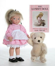 EDITH THE LONELY DOLL Anniversary Set - Doll, Bear & MINI Dare Wright Book - NEW
