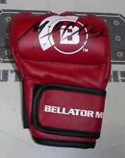 Michael Chandler Signed Official Red Bellator MMA Fight Glove BAS COA Autograph