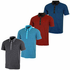 PUMA Polyester Striped Casual Shirts & Tops for Men