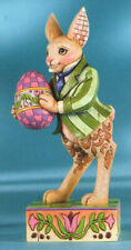 Jim Shore Colorful Delights, Bunny with Egg - Ln Enseco Retired
