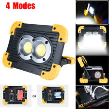 20W USB Rechargeable Portable LED Flood Light Spot Work Lamp Outdoor Waterproof