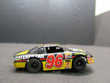 OLD NASCAR CAT CATERPILLAR # 96 SLOT CAR RACING CAR TOY HOBBIES RACE TRACK