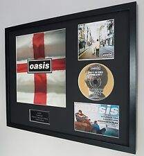 Oasis Framed Original Knebworth Programme-Definitely Maybe-Noel Gallagher-Liam