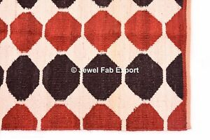 Rug Indian Handmade Rug Handwoven Jute Rug Kilim Carpet Floor Handmade Jute Rug