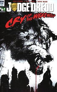 Judge Dredd: Cry of the Werewolf (Jock Variant / One Shot / 2017 / NM)
