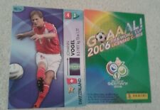 FIFA 2006 World Cup Switzerland JOHANN VOGEL Panini Trading Card