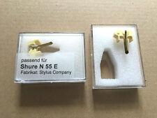 1 pièces de rechange aiguille n55e shure n/m 55 E/vn 2 E/v 15 22,50 incl. expédition