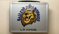 LA Kings Baileys Buddies Lion Lunch Pail Tatoos Stickers Lanyard Bobble Head Lot