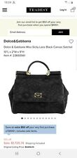 Dolce and gabbana - Sicily Lace Bag - Black - RRP $1900