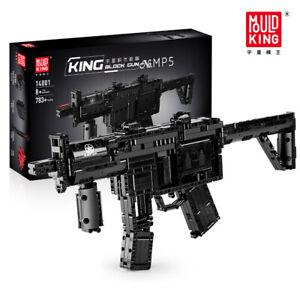 Mould King 14001 MP5 Motorised King Gun Building Blocks Set 783+pcs