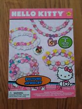 Hello Kitty Girls Picture Jewelry Bead And Charm Craft Gift Kit