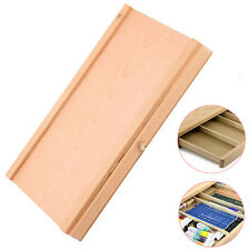 Portable Artist Wooden TableTop Sketch Box Easel Drawer Sturdy Storage EasyCarry