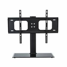"""New Replacement Table Top TV Pedestal Stand Base Fits 37""""-55"""" For LED LCD Plasma"""