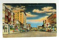 Macon Georgia Cherry Street Vintage Postcard