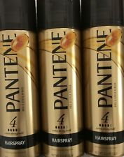 **NEW** LOT Of 3 PANTENE PRO-V HAIRSPRAY #4 EXTRA STRONG HOLD **FREE SHIPPING**