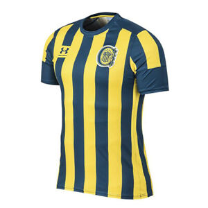 Under Armour Rosario Central Authentic Home Jersey 2021 Soccer - 360459735
