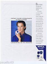 PUBLICITE ADVERTISING 105  1988   NIVEA VISAGE  cosmétiques