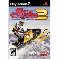 Snocross 2: Featuring Blair Morgan - 2007 Racing - Sony PlayStation 2 PS2