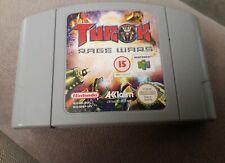 Nintendo 64 N64 Turok Rage Wars (game only) PAL