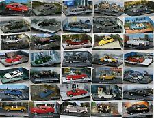 James Bond 007-De Agostini -  Maßstab (1:43) - Auto / Modell Aussuchen: