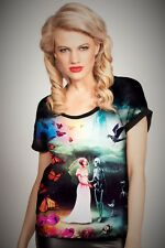 Cold Heart Baggy Top  Marriage   size S (UK 10) Pastel Goth Alternative