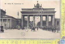 Cartolina - Postcard  - Berlin - Branderburger - Animata - anni '40