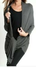 Lady DKNY cardigan Grey Jersey NEW size S/M