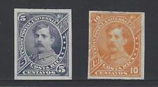 COSTA RICA (G10150) BERNARDO SOTO ALFARO, Sc 21-22 IMPERF MH NG 1887