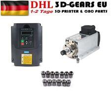 Luftgekühlte Fräse Spindel 1.5kw  Motor Spindle Milling + Inverter ER11 220V