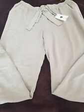 Ladies Papaya Weekend Loose Fit Summer Khaki Trousers Size 14 New