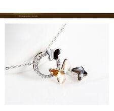 Modeschmuck-Halsketten & -Anhänger aus Kristall mit Beauty-Themen für Damen