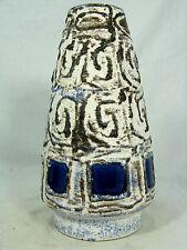 "70´s Ilse Stephan design Schlossberg Keramik "" Capri "" Fat Lava vase 243 - 20"