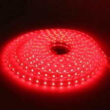 SMD3014 LUZ CINTA TIRA FLEXIBLE LED AC220V 60 LED/M IMPERMEABLE - COLOR A ELEGIR