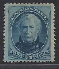 U.S. #185 Mint - 5c Blue  CV $500