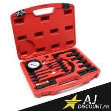 Coffret Compressiomètre 17 pièces pour moteur DIESEL - Testeur de pression