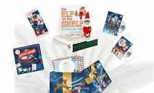More details for elf on the shelf christmas  2 elf's dvds books etc kellogg's competition prize