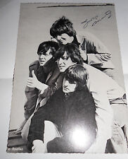 George Martin autograph Beatles signed