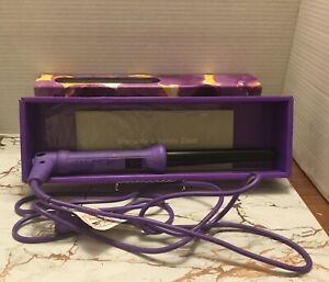 New Her Styler Grande Professional Purple Curling Iron $200.00