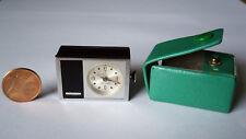 STOWA MINI-ALARM Electronic ⏰ Miniatur Wecker⏰ Reiseuhr ⏰ Reisewecker⏰ 60er/70er
