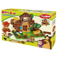 "The constructor PlayBIG ""Bear house"" Masha and the Bear 163 pcs. Masha i Medved"