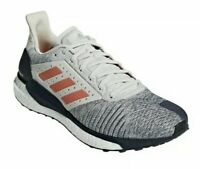 ADIDAS Boost Solar Glide ST B96287 White Orange Mens Size 13 New Fast Ship!