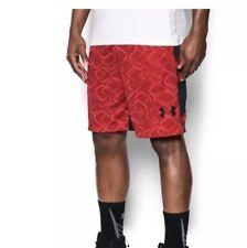 NWT Big & Tall Tek Gear Dry Tek Laser Basketball Shorts XL Tall Biking Red