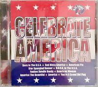 DJ's Choice Celebrate America CD Born In The USA American Woman God Bless Americ