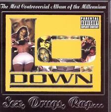 """LO DOWN CD: """"SEX, DRUGS, RAP"""" OOP 2000"""
