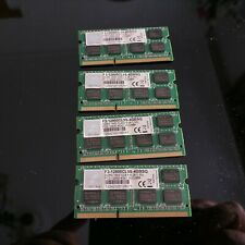 16GB G-skill F3 4GB SO-DIMM 1600MHZ PC12800CL9S LAPTOP PERFORMANCE RAM 1,5V
