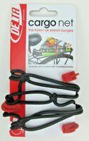 Delta Cycle Bike / Bicycle Rack Elastic Cargo Net 3 Hook Black Free Shipping!