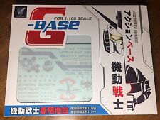 SEED Universa Gundam Action Base Display Stand METAL BUILD style FreeShipping