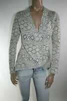COVERI COLLECTION MAGLIONE CARDIGAN DONNA Tg. S WOMAN CASUAL SWEATER A2666